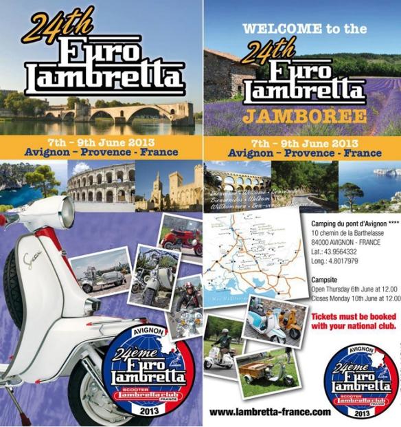 24th Euro Lambretta